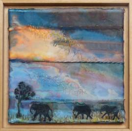 Elephants at Evening £210