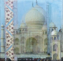 Shadowed Blue Taj SOLD